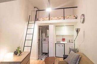 Location Studio Paris 11 Rue De La Fontaine Au Roi Meuble 12 M