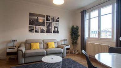 Appartement meublé 2 chambres Levalloit-Perret