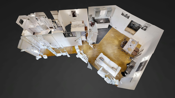 Wohnung Paris 1° - Interaktiven Plan