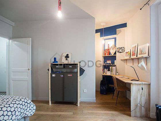 Chambre très calme pour 1 personnes équipée de 1 lit(s) gigogne de 80cm