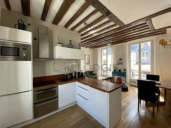 Kitchen of 6m²