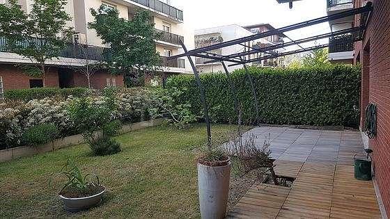 Garden of 73m²