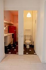 アパルトマン Seine st-denis - トイレ