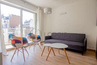 Montmartre Paris 18° Estúdio com espaço dormitorio