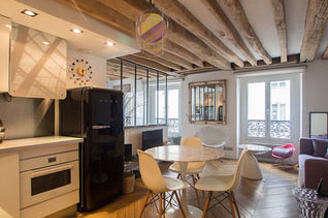 Notre Dame des Champs Paris 6° studio mit alkoven