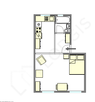 Apartment Val de marne - Interactive plan