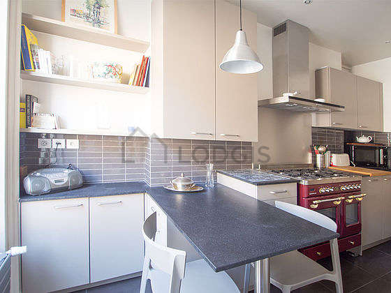 Very bright kitchen