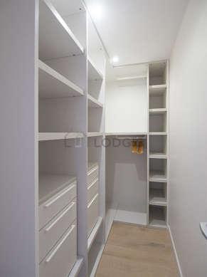 Very quiet walk-in closet