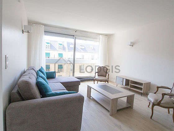 Very quiet living room furnished with 1 sofabed(s) of 160cm, tv, 2 armchair(s), 1 chair(s)