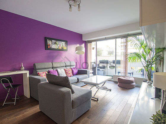 Very quiet living room furnished with 1 sofabed(s) of 160cm, tv, 1 armchair(s), 1 chair(s)