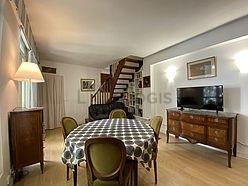 Duplex Paris 9° - Living room
