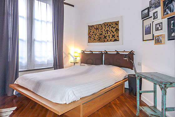Quiet bedroom for 2 persons equipped with 1 twin beds of 140cm