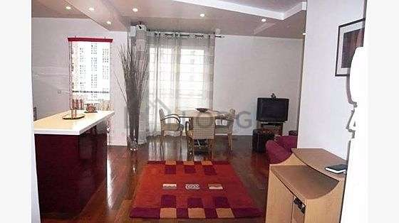 Very quiet living room furnished with sofa, 4 chair(s)
