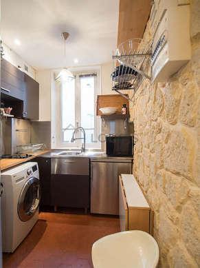Great kitchen of 4m² with floor tiles floor