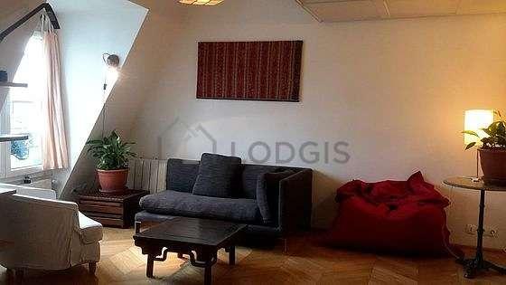 Séjour calme équipé de 1 canapé(s) lit(s) de 140cm, 1 lit(s) mezzanine de 140cm, air conditionné, canapé