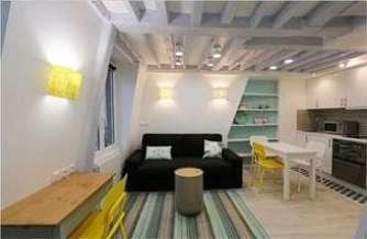 Hôtel de Ville – Beaubourg Parigi 4° 1 camera duplex