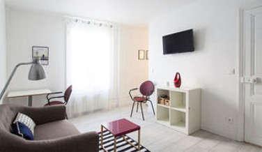 Le Marais Paris 3° Estúdio com espaço dormitorio