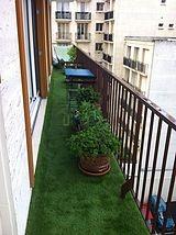 Wohnung Paris 20° - Terasse