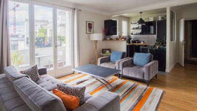 Place des Vosges – Saint Paul Париж 4° 2 спальни Квартира