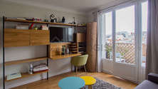 Apartment Paris 4° - Bedroom 2