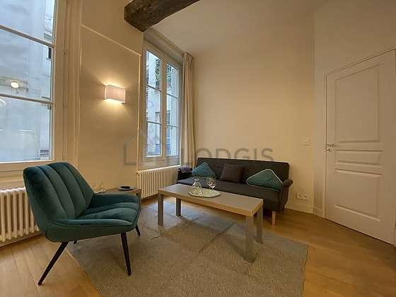 Great, very quiet sitting room of an apartment in Paris