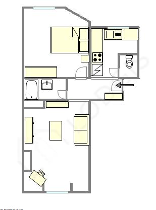 Apartamento Hauts de seine - Plano interativo