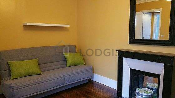 Living room furnished with sofa, storage space, 1 chair(s)