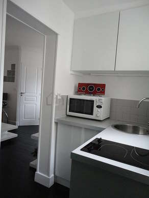 Great kitchen of 2m² with wooden floor
