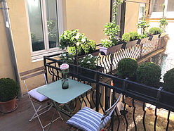 Apartment Paris 11° - Terrace