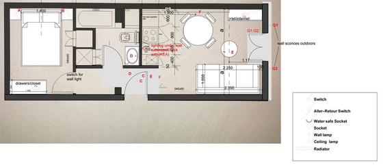 Apartamento Val de marne - Plano interactivo