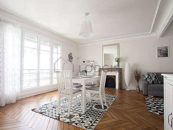 Very bright living room