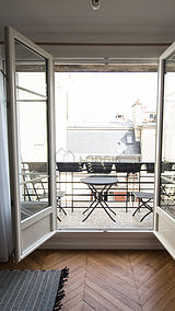 公寓 巴黎2区 - 阳台