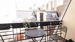 Wohnung Paris 2° - Terasse