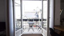 Apartamento París 2° - Terraza