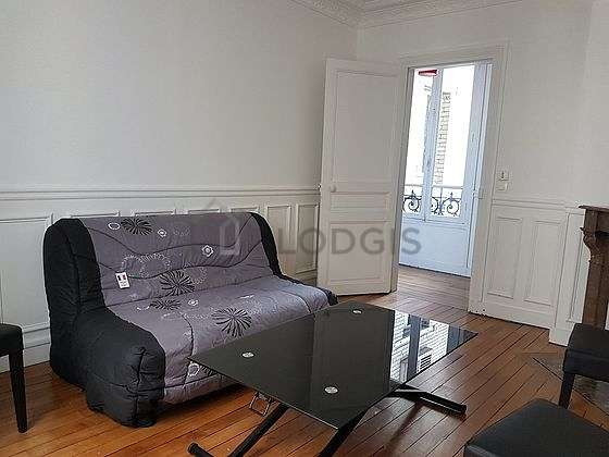 Very quiet living room furnished with 1 sofabed(s) of 140cm, sofa, 4 chair(s)