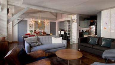 Montmartre Париж 18° 3 спальни Лофт