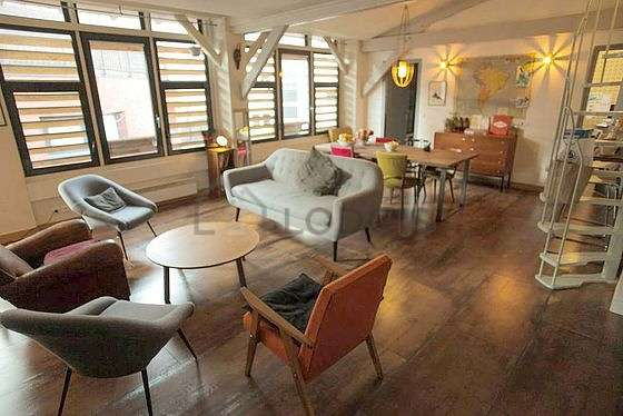 Parigi Montmartre (Rue Labat)   Affito lungo periodo : 3 camere 100 ...