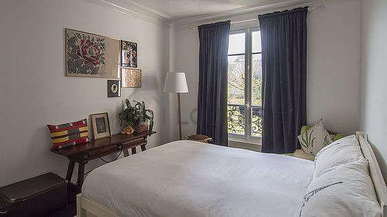 Bedroom facing the garden
