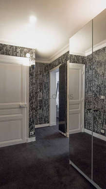 Very beautiful entrance with a carpeting floor
