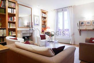 Париж 18° 2 спальни Квартира