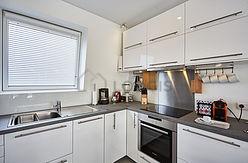 雙層公寓 Hauts de seine - 廚房