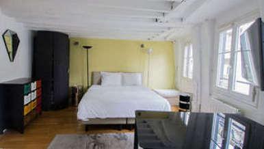 Hôtel de Ville – Beaubourg Париж 4° студия
