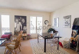 Alésia Paris 14 1 Bedroom Apartment Furnished