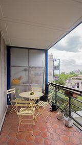 Apartamento París 19° - Terraza