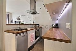 Apartamento París 8° - Cocina
