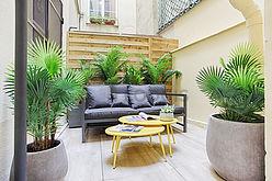 Apartamento París 4° - Terraza