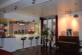 Duplex 2 chambres Paris 18° Porte de Clignancourt