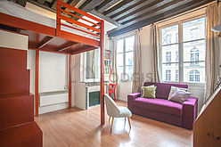 Appartamento Parigi 4° - Soggiorno