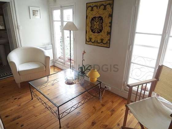 Very quiet living room furnished with 1 sofabed(s) of 90cm, sofa, 2 armchair(s)