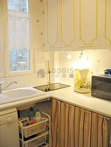 公寓 巴黎13区 - 廚房